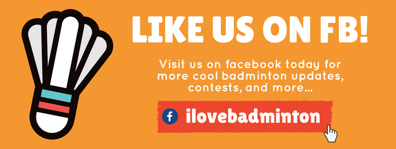 Like us on the facebooks! (Yep, plurality in grammar isn't our forte, but Badminton is!)