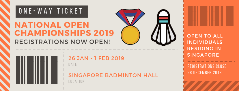 National Open Championships - Registrations Now Open!