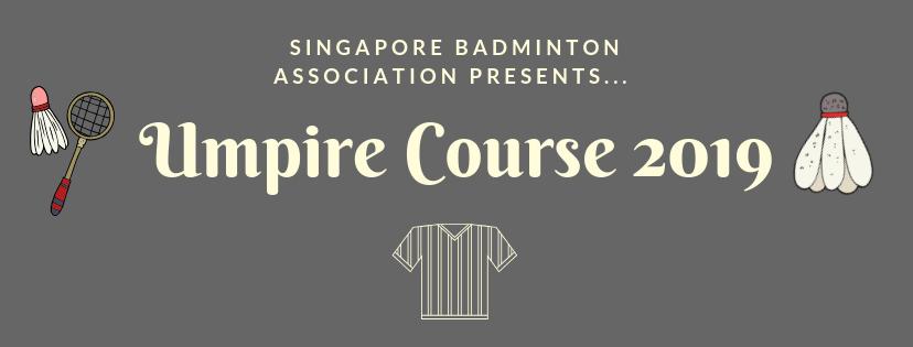 Umpire Course 2019