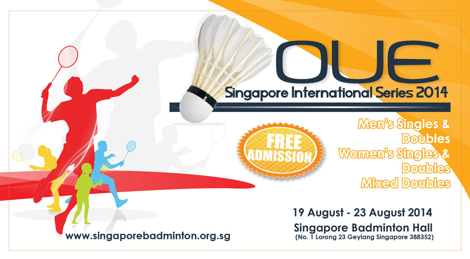 OUE Singapore International Series 2014