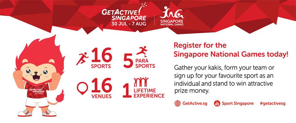 GetActive! Singapore 2016