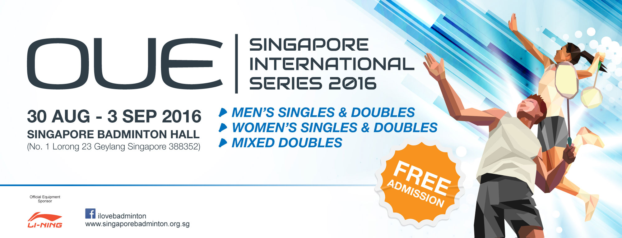 OUE Singapore International Series 2016