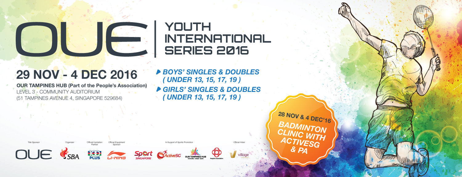 OUE Singapore Youth International Series 2016
