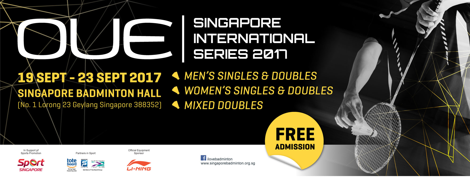 OUE Singapore International Series 2017