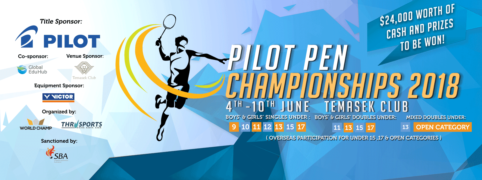 Learn More About the Upcoming Pilot Pen Championships 2018!