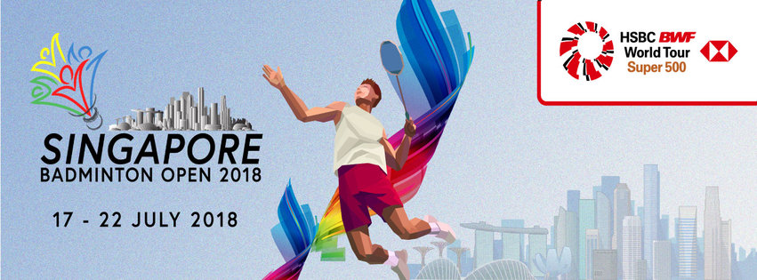Learn More About the Singapore Badminton Open 2018!