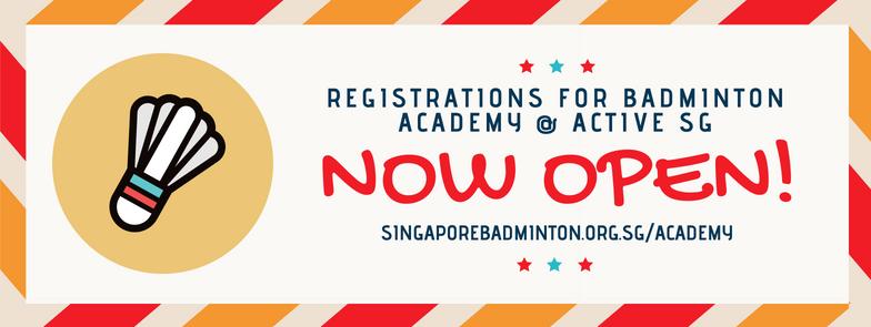Academy Registrations Now Open!